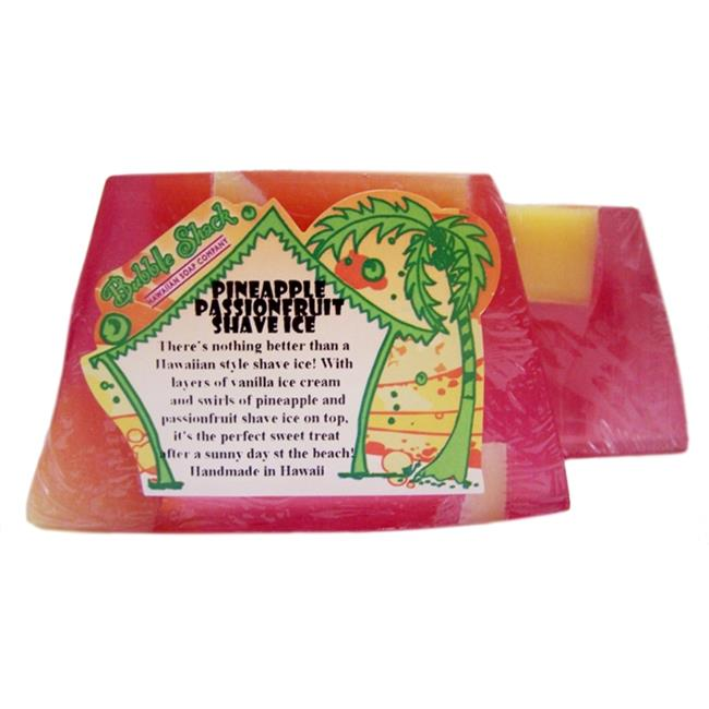 Bubble Shack Hawaii 492772005800 Pineapple Passionfruit Chunk Soaps - Pack of 2