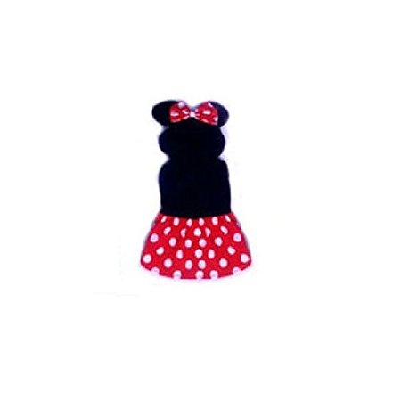 Dog Costume - GIRL MOUSE COSTUMES - Dress Your Dogs as Famous Mice(Size 1)