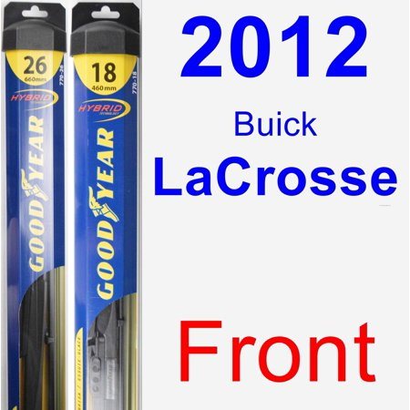 2012 Buick LaCrosse Wiper Blade Set/Kit (Front) (2 Blades) - (2012 Buick Lacrosse Review Car And Driver)