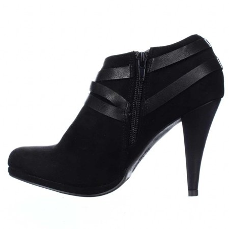 Womens Crissy Closed Toe Ankle Fashion Boots