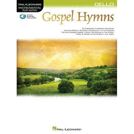 Gospel Hymns for Cello : Instrumental Play-Along (Hymns Cello)