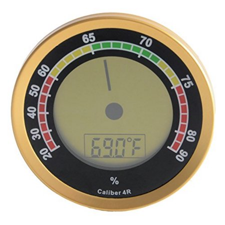 Caliber 4R Gold Digital/Analog - Analog Hygrometer