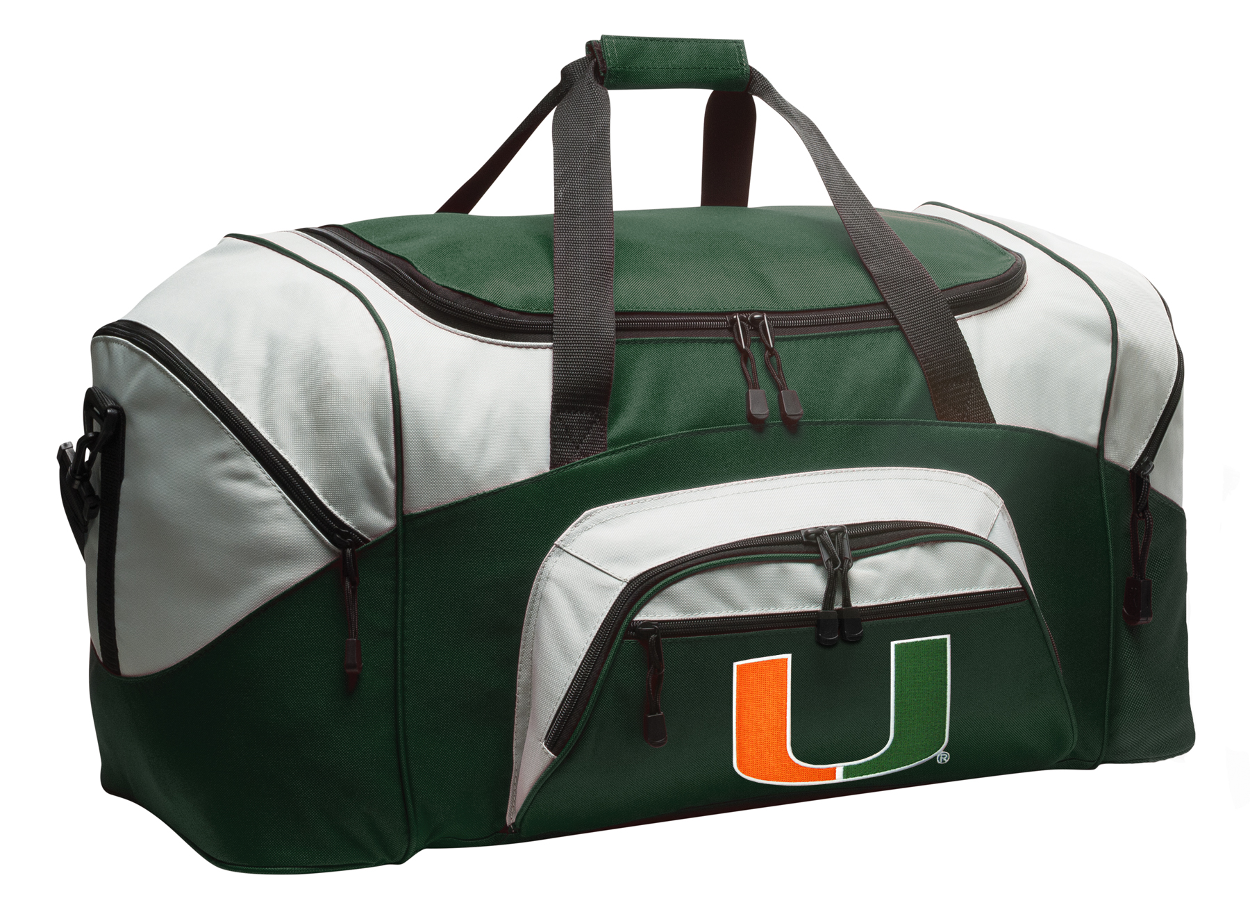 Miami Duffel Bag or University of Miami Gym Bag by