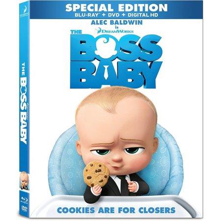 The Boss Baby  Blu Ray