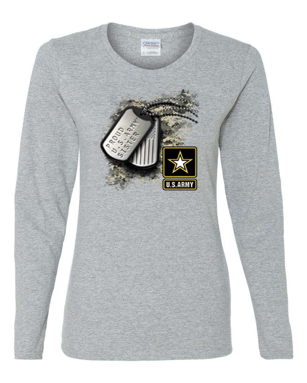 Custom Apparel R Us Proud U S Army Sister Gift Military Womens