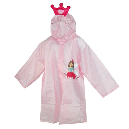CTM Kid's Princess Rain Coat with Pouch - image 3 of 3