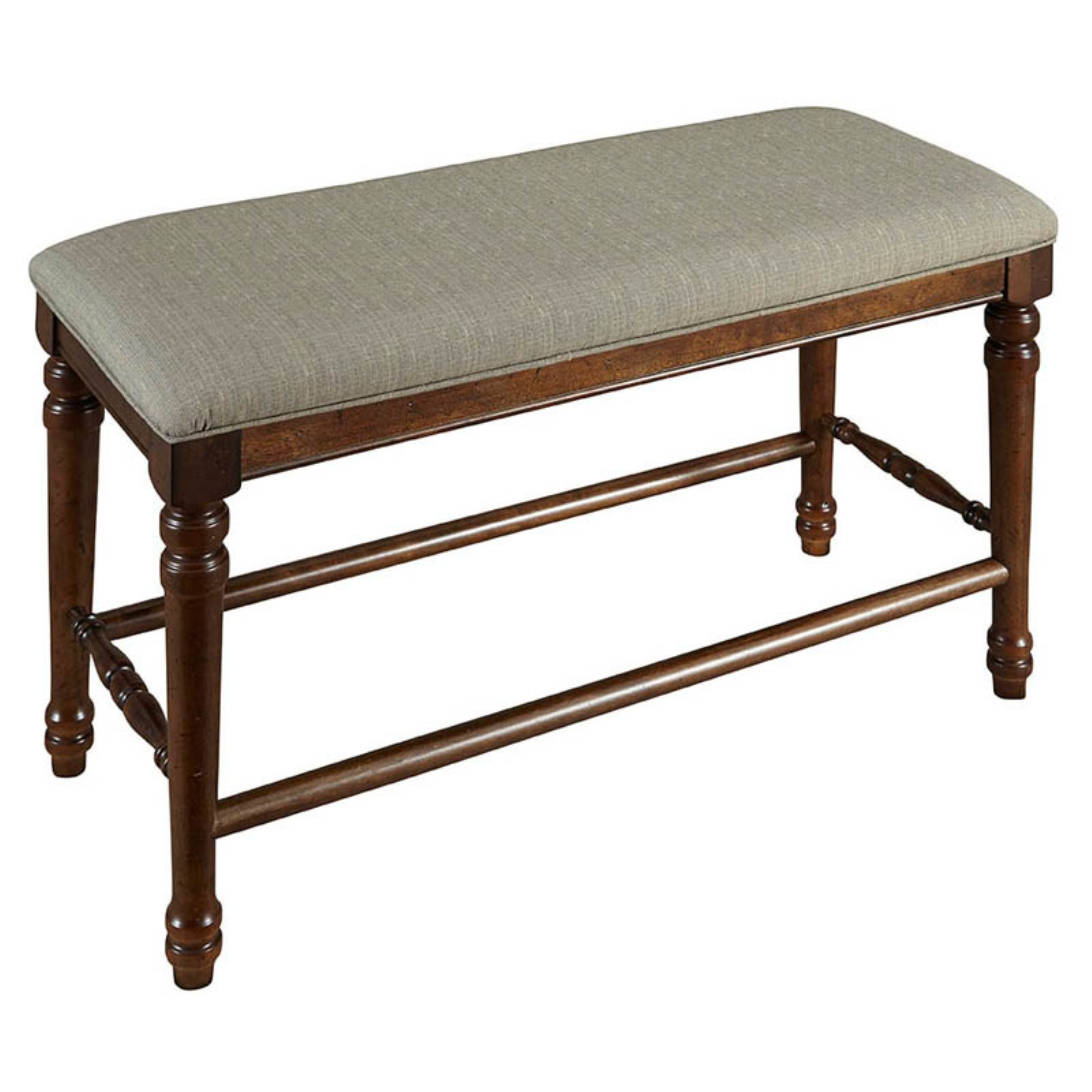 A-America Andover Counter Height Backless Bench with Upholstered Seat