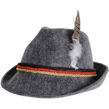Alpine Hat Adult Halloween Accessory (Italian Alpine Hat)