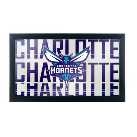 NBA Framed Logo Mirror - City - Charlotte Hornets ()