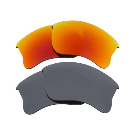 c33e0b4f44 Best SEEK Polarized Replacement Lenses - Oakley HALF JACKET 2.0 XL Silver  Red - Walmart.com