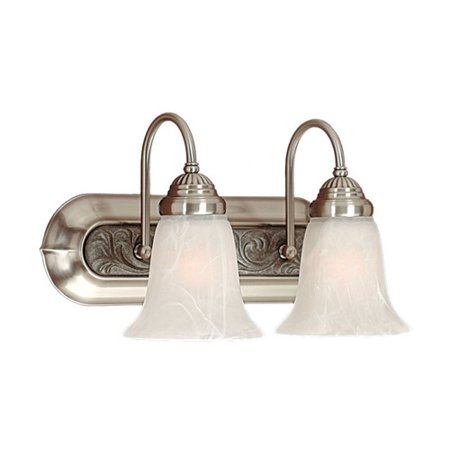Fleur De Lis Living Watford 2-Light Vanity Light (Bsa Fleur De Lis)