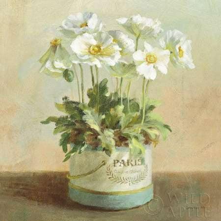 - Tres Chic Poppies Canvas Art - Danhui Nai (24 x 24)
