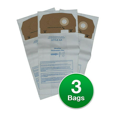 Replacement Vacuum Bags For Eureka 58236c Style Aa