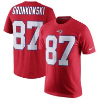 b57d5e0547e Product Image Rob Gronkowski New England Patriots Nike Player Pride Name    Number T-Shirt - Red