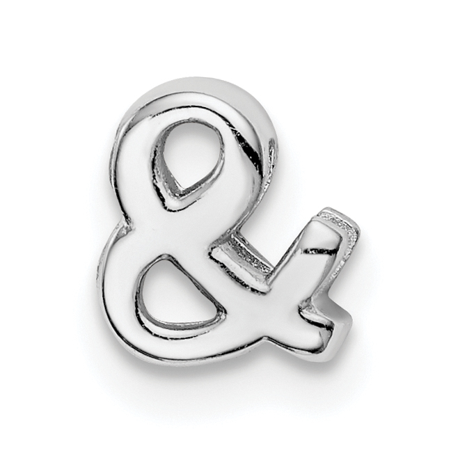 Princess Kylie 925 Sterling Silver Ampersand Sign Ring