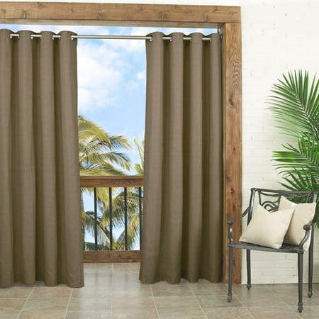 Parasol Key Largo Indoor/Outdoor Curtain Panel - Walmart.com