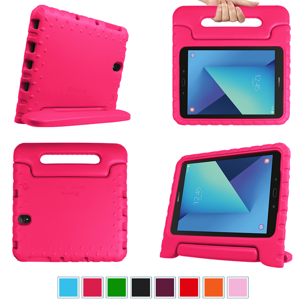 For Samsung Galaxy Tab S3 9.7 Case, Fintie Lightweight Shock Proof Convertible Handle Kids Friendly Stand Cover