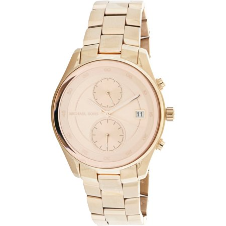 ff9ea4694a52 Michael Kors Women s Briar Rose MK6465 Rose-Gold Stainless-Steel Quartz  Fashion Watch ...