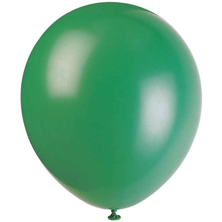 """12"""" Latex Forest Green Balloons, 10ct"""