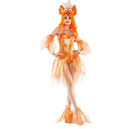 Women's Sexy Goldfish Costume for $<!---->