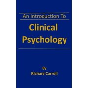 An Introduction To Clinical Psychology - eBook