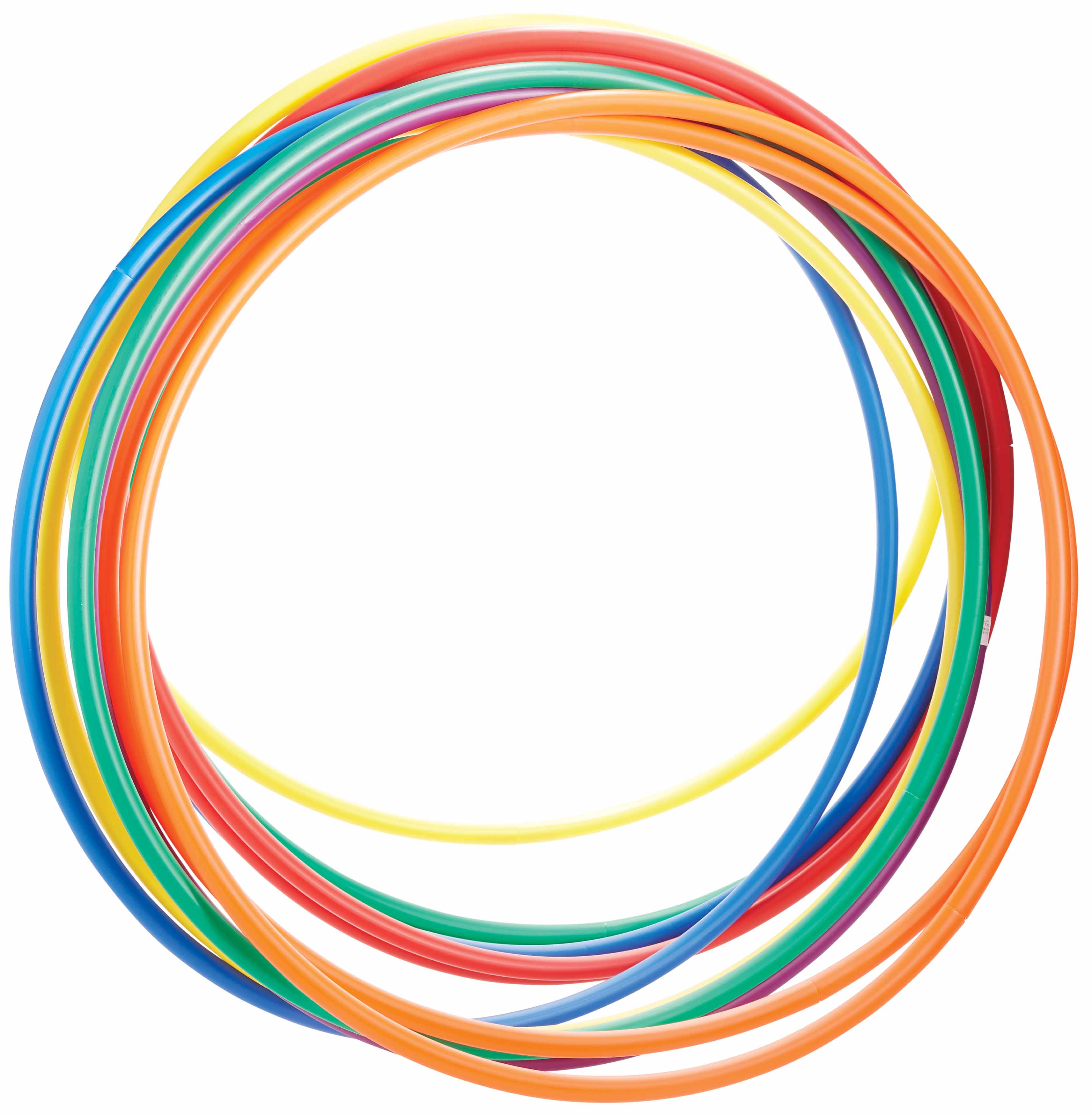 "36"" Deluxe Hula Hoops, 12-Pack"