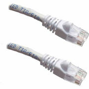 Professional Cable 50' Gigabit Ethernet UTP Cable with Boots, White