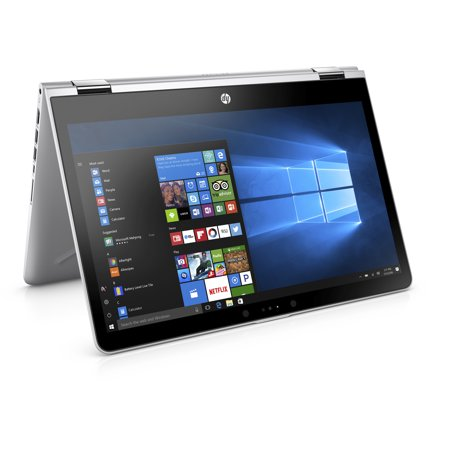 HP Pavilion X360 14-BA110NR Natural Silver 14 inch Touch Laptop, Windows 10, Core i5-8250U QC Processor, 8GB Memory, 256 GB SSD Hard Drive, UMA Graphics, Backlit Keyboard, B&O Play (Hp Pavilion G70 250us 17-0 Inch Laptop)