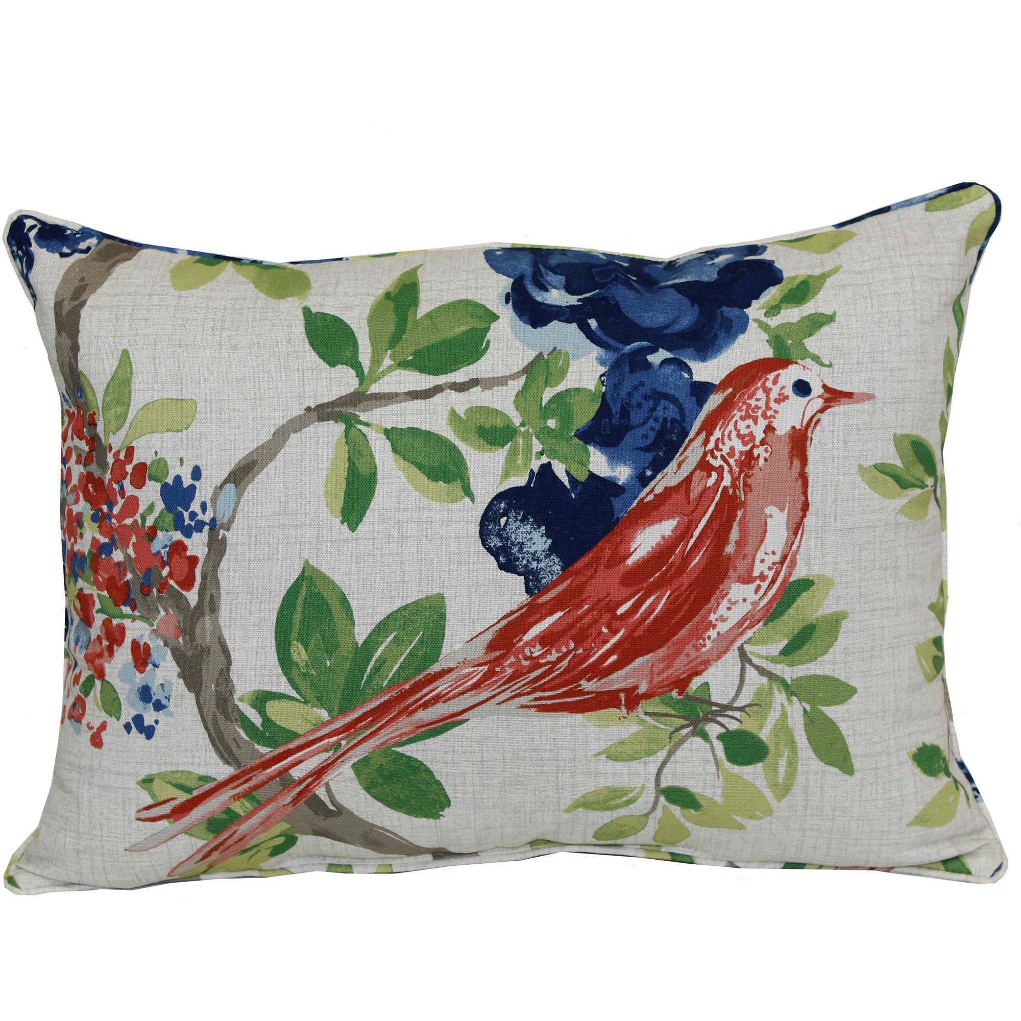Better Homes And Gardens Bird Outdoor Toss Pillow