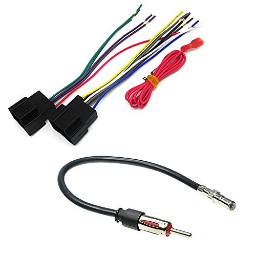 CAR STEREO CD PLAYER WIRING HARNESS WIRE ADAPTER PLUG FOR AFTERMARKET RADIO - FOR SELECT CHEVROLET GMC PONTIAC SUZUKI VEHICLES
