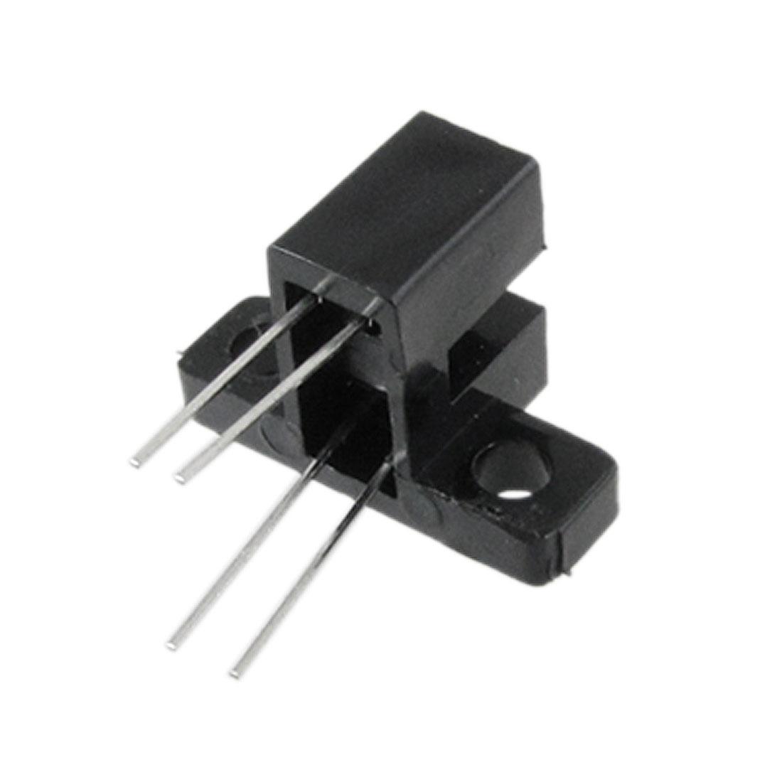 Unique Bargains 10 Pcs 3 25 Gap Mounting Bracket Photo Interrupter Blk Optical Circuit