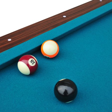 EastPoint Sports Chamberlain Billiard Pool Table With Cue Rack - Pool table pocket shims