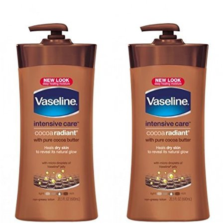 Vaseline Cocoa Butter Deep Conditioning Body Lotion with Cocoa Butter & Vitamin E - 20.3