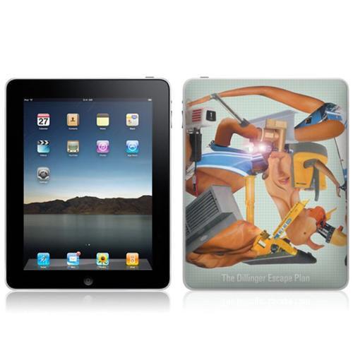 Zing Revolution MS-DEP20051 iPad- Wi-Fi-Wi-Fi + 3G- Dillinger Escape Plan- Miss Machine Skin
