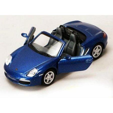 "5"" Kinsmart Porsche Boxster S Convertible Diecast Model Toy Car 1:34 Blue"