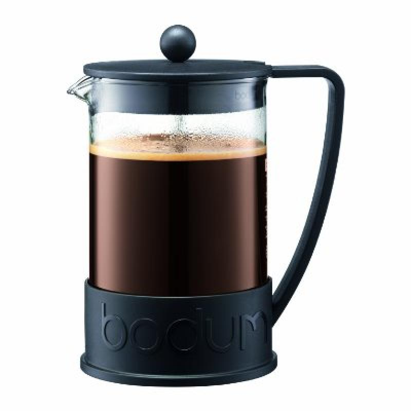 Bodum BRAZIL French Press Coffee Maker, 1.5 L, 51oz, Black