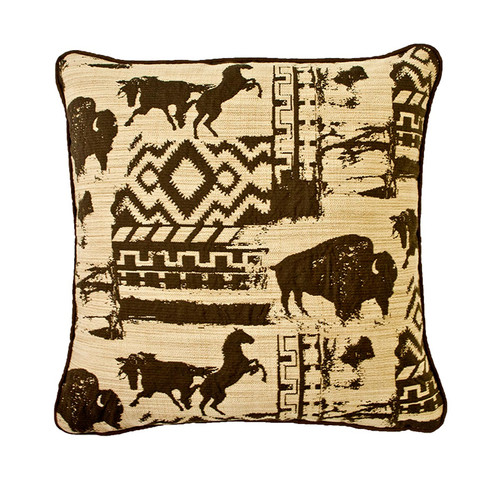 Silverado Home Great Plains Throw Pillow