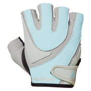 Harbinger Women's Training Grip Weightlifting Gloves with TechGel-Padded Leather Palm (Pair), Large