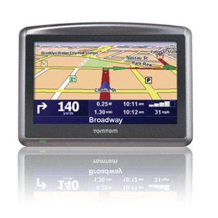 tomtom one xl s 4 3 touchscreen portable gps navigation. Black Bedroom Furniture Sets. Home Design Ideas