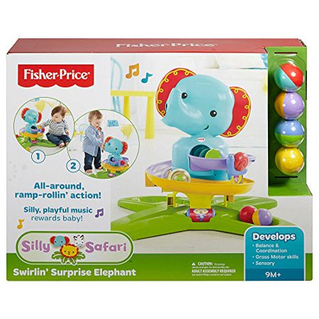 - Fisher-Price Silly Safari Swirlin' Surprise Elephant