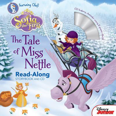 Sofia the First Read-Along Storybook and CD The Tale of Miss Nettle](Sofia First)
