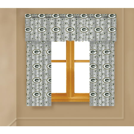 Nfl Green Bay Packers Curtain Panels