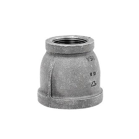 - Anvil  3/4 in. FPT   x 1/4 in. Dia. FPT  Black  Malleable Iron  Reducing Coupling