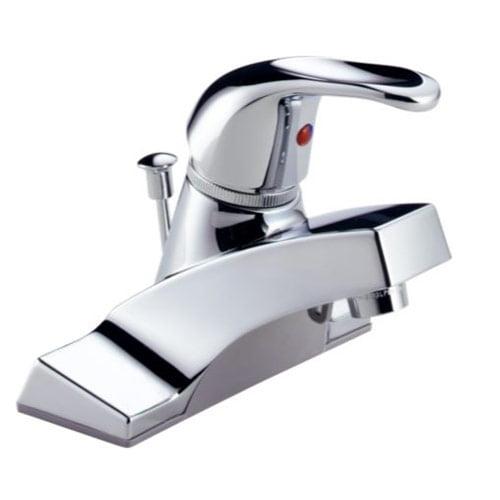 Peerless P36lf Single Handle Centerset Bathroom Sink