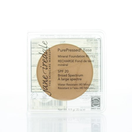 Jane Iredale PurePressed Base Mineral Foundation SPF 20 Refill Golden Tan 0.35oz/9.9g