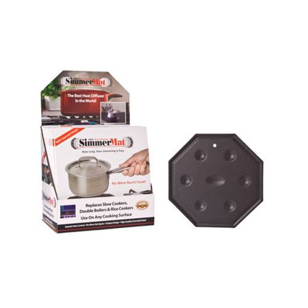 Cooks Innovations SimmerMat Heat Diffuser, Simmer Ring, and Flame Tamer for All Stove