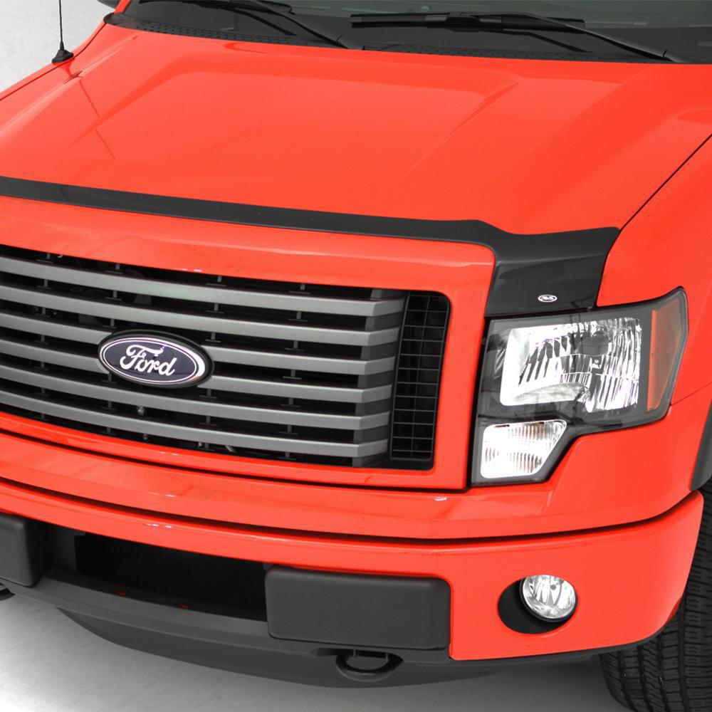 Auto Ventshade 322105 Aeroskin Acrylic Smoke Finish Large Hood Shield