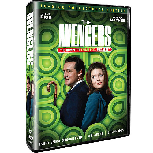 The Avengers: Emma Peel Megaset