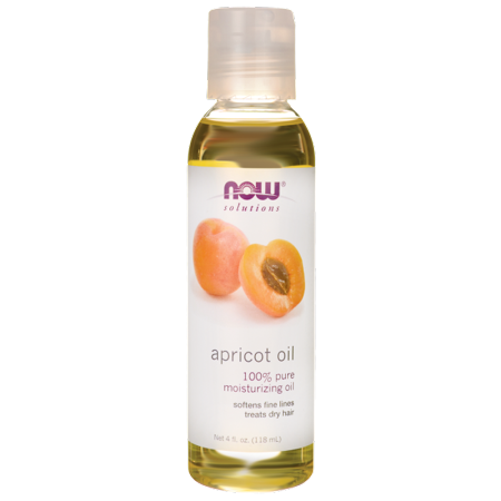 NOW Foods Apricot Oil 4 fl oz Liquid Natural Spa Apricot
