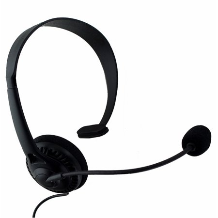 Insignia Landline Phone Headset with 2.5mm Aux Connector - Black (Refurbished)